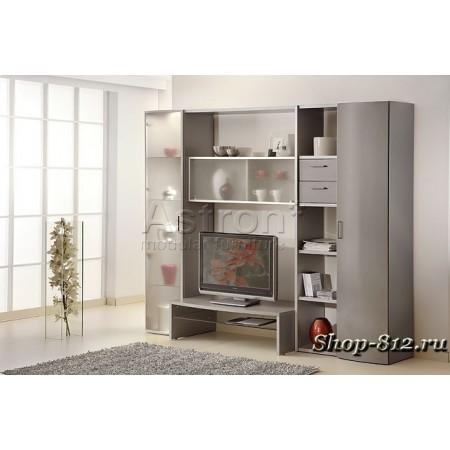 Корпусная мебель для гостиной CAT5(Ассоль)