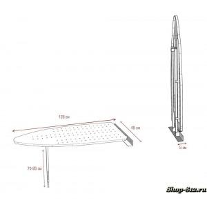 Механизм встроенной гладильной доски Shelf