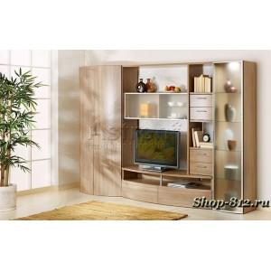 Корпусная мебель для гостиной CAT7 (Ассоль)