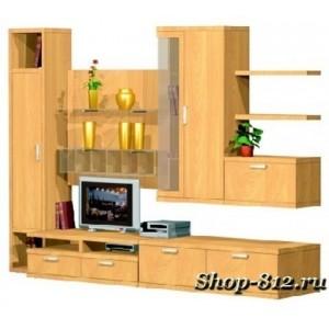 Корпусная мебель для гостиной GHH001 (Катрин)