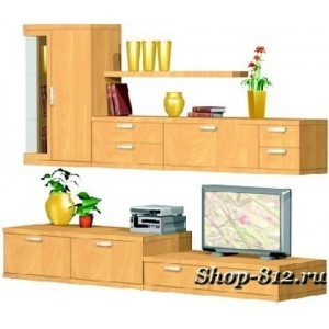 Корпусная мебель для гостиной GHH003 (Катрин)