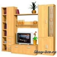 Корпусная мебель для гостиной GHH041 (Катрин)