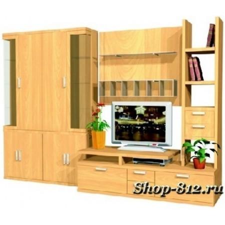 Корпусная мебель для гостиной GHH006 (Катрин)
