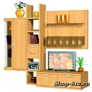 Корпусная мебель для гостиной GHH008 (Катрин)