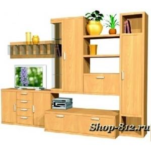 Корпусная мебель для гостиной GHH019 (Катрин)