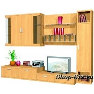 Корпусная мебель для гостиной GHH024 (Катрин)