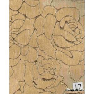 Стул Руслан-7 (слоновая кость, патина зол.,ткань17)