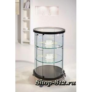 As 64.022 - витрина круглая (верх. стол. стекл) 88 см