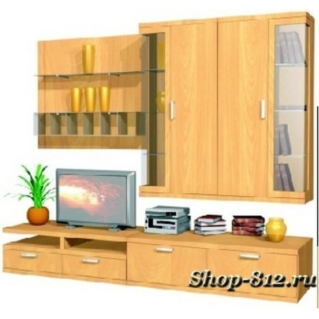 Корпусная мебель для гостиной GHH030 (Катрин)