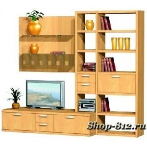 Корпусная мебель для гостиной GHH032 (Катрин)