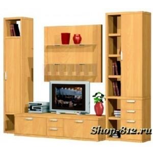 Корпусная мебель для гостиной GHH035 (Катрин)