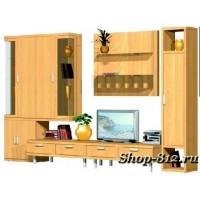 Корпусная мебель для гостиной GHH037 (Катрин)